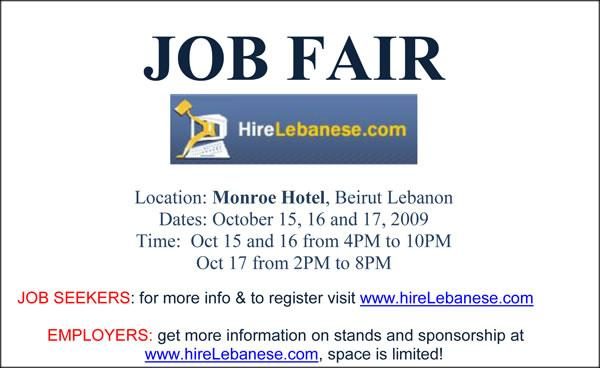 Hirelebanese Job Fair