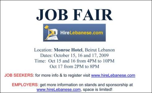 Hirelebanese Job Fair