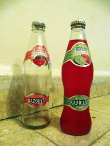 Kazuza Grenadine & Watermelon soft drink