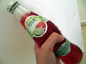 Kazouza Grenadine & Lemon Bottle