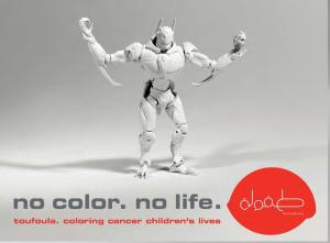 No color - no life - Toufoula Poster